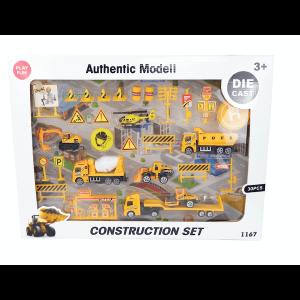 építőipari játékszett