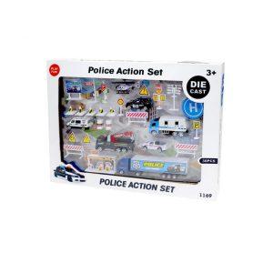 rendőrségi játékszett